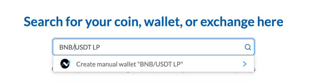 Example of creating a new wallet representing the liquidity pool